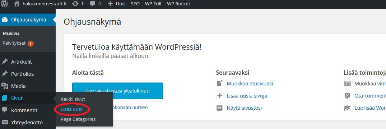 WordPress-alkeet