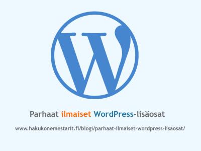 Parhaat ilmaiset WordPress-lisäosat