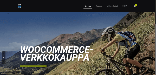 WooCommerce-verkkokauppa